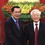 Telephone Conversation between Samdech Akka Moha Sena Padei Techo Hun Sen, Prime Minister of Cambodia