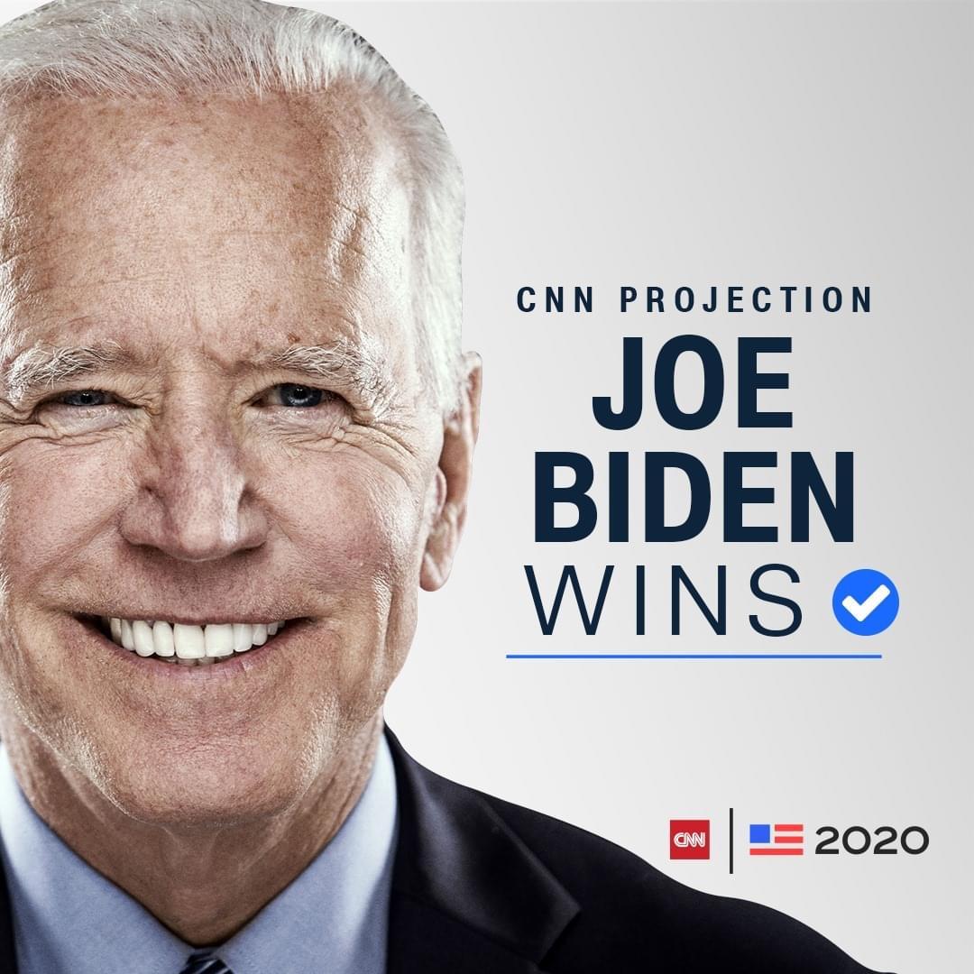 BREAKING: ទីបំផុតលោក Joe Biden ទទួលបានជោគជ័យក្នុងការបោះឆ្នោត ក្លាយជាប្រធានាធិបតីរបស់សហរដ្ឋអាមេរិក