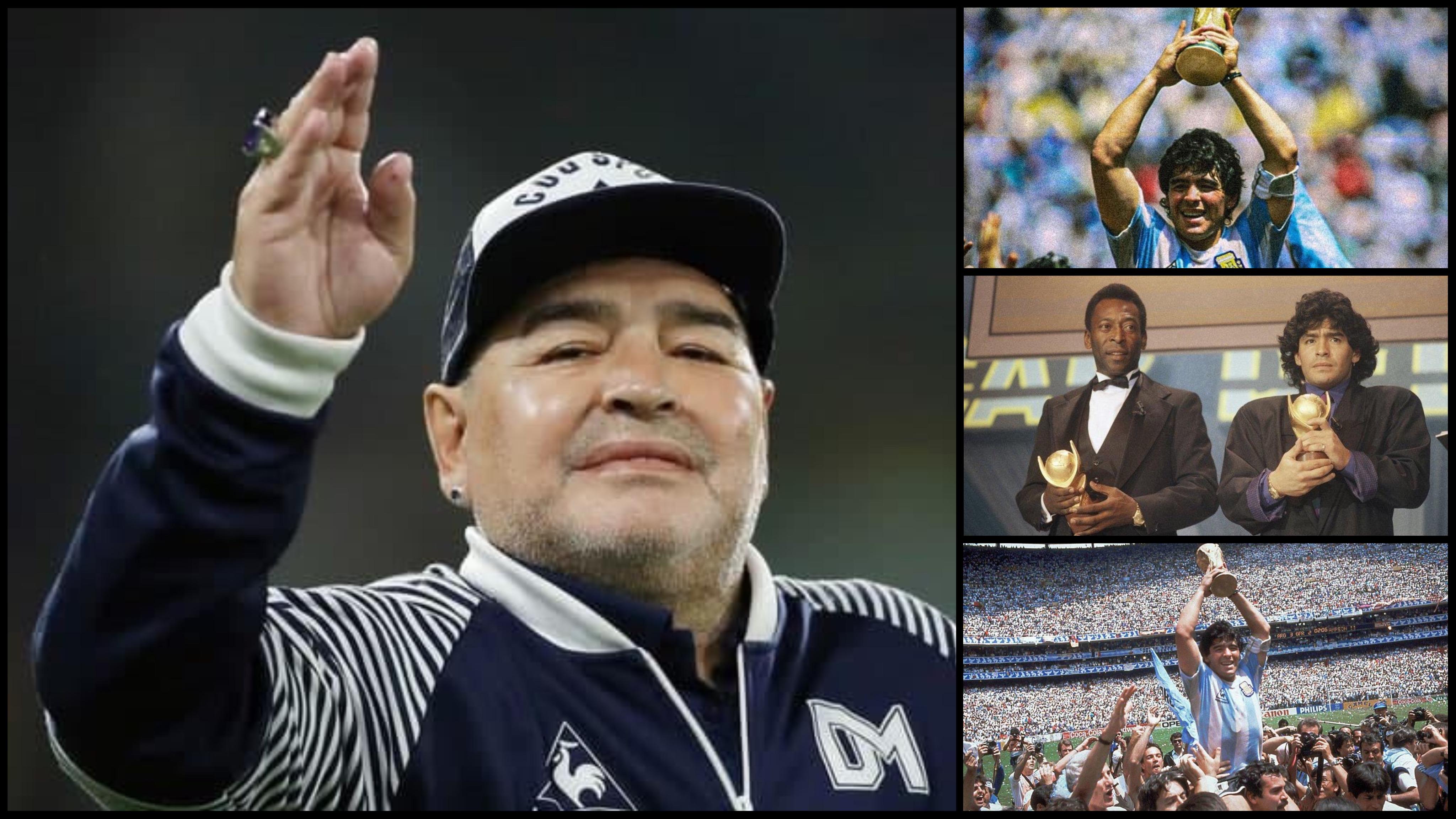 អតីតស្តេចបាល់ទាត់ដ៏ឆ្នើមរបស់អាហ្សង់ទីនលោក Maradona ទទួលមរណភាព