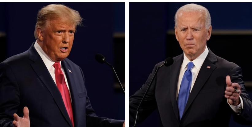 លោក Donald Trump និងលោក Joe Biden នឹងជជែកដេញដោលគ្នាជាលើកចុងក្រោយ