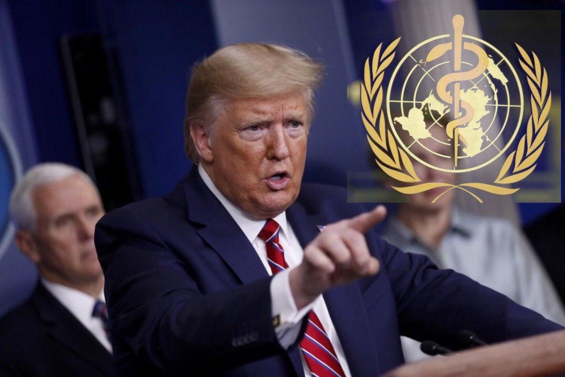 លោកប្រធានាធិបតី Donald Trump នឹងបញ្ឈប់ការផ្តល់មូលនិធិដល់អង្គការសុខភាពពិភពលោក 